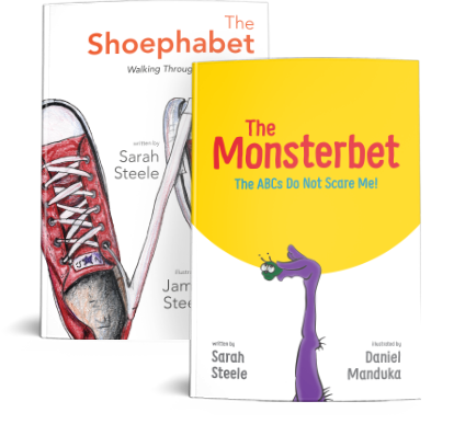 Monsterbet and Shoephabet Covers