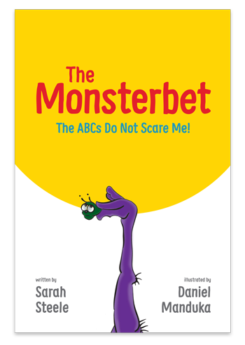 The Monsterbet alphabet book cover