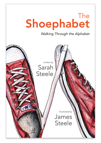 The Shoephabet alphabet book Cover