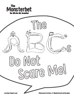 The Monsterbet Coloring Page ABCs
